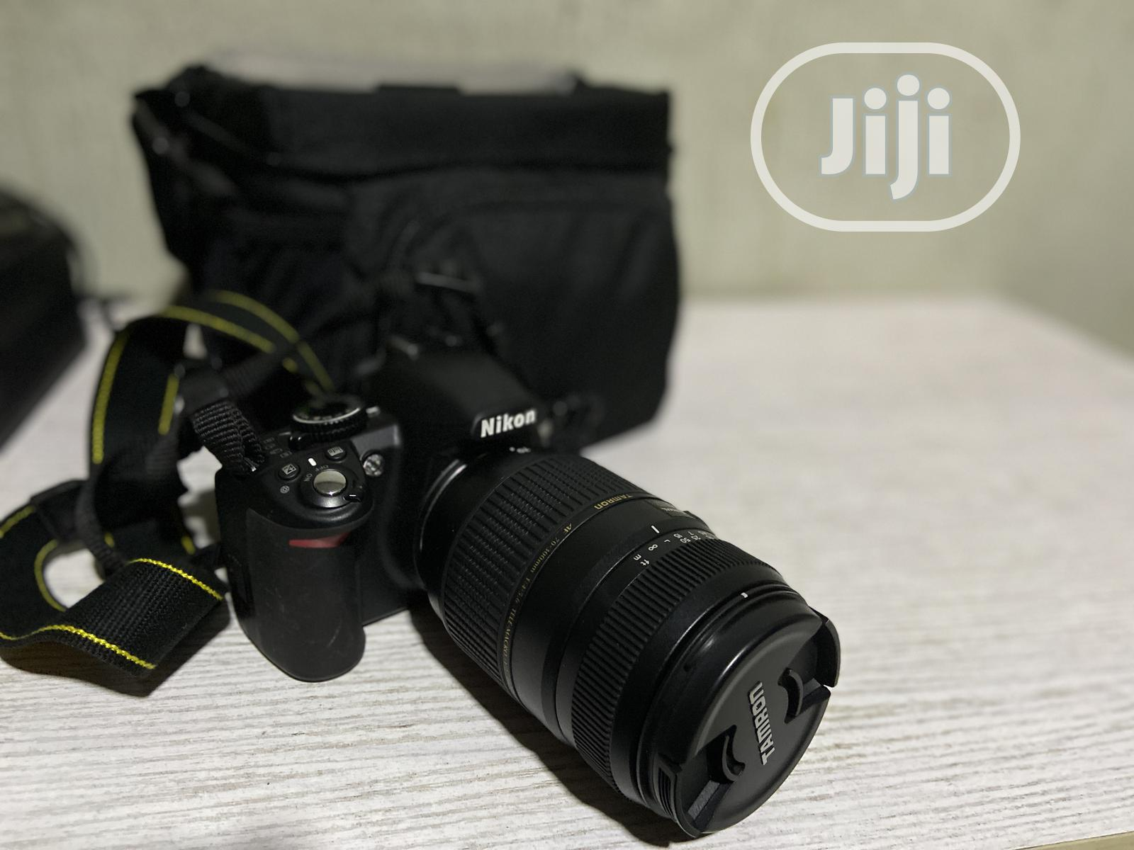 Nikon D3100 Camera With 70-300mm Lens