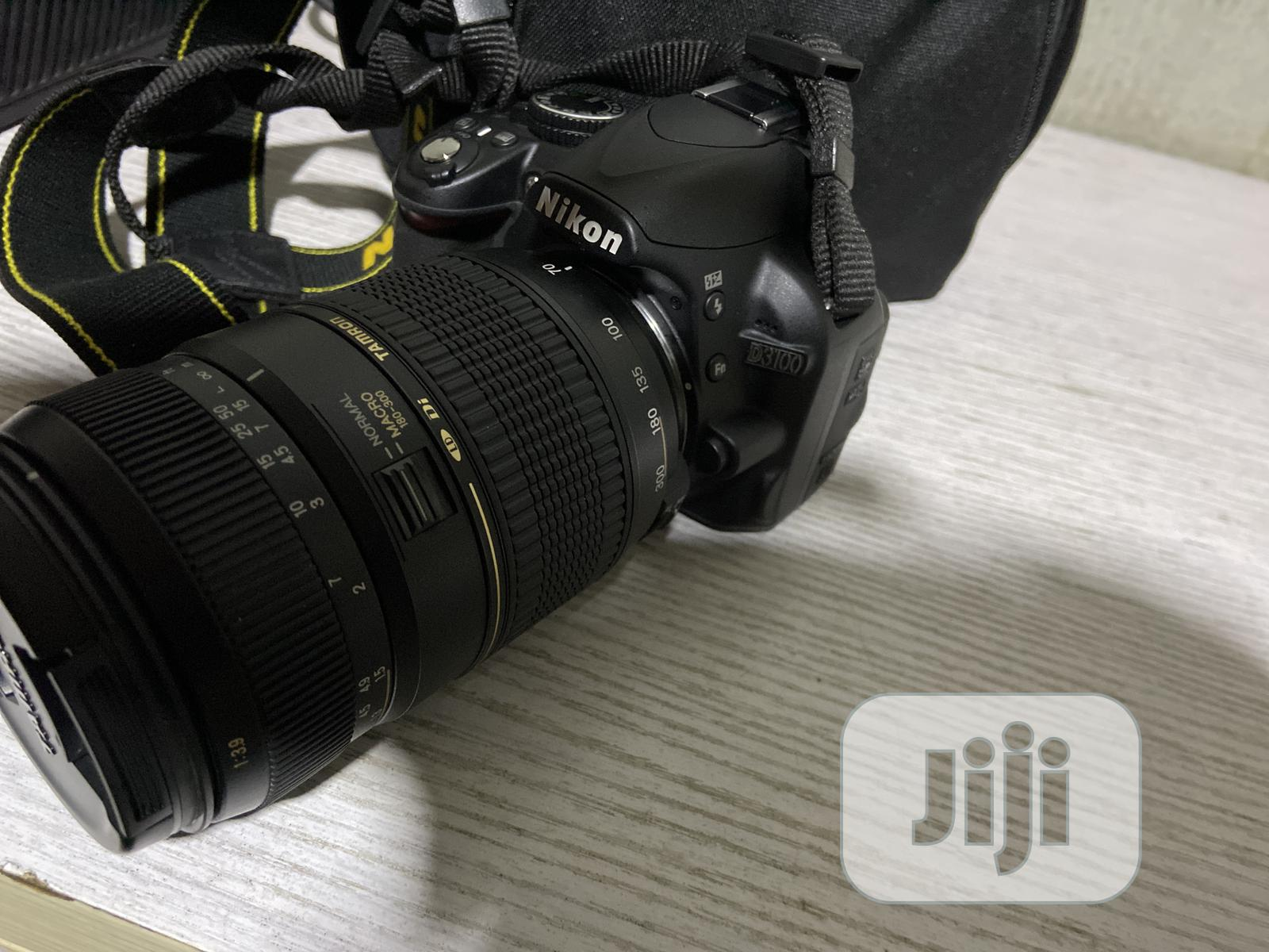 Nikon D3100 Camera With 70-300mm Lens | Photo & Video Cameras for sale in Ilupeju, Lagos State, Nigeria