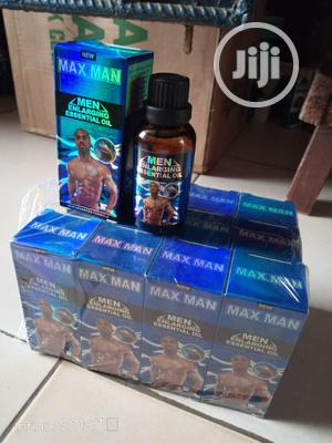 Maxman Men Enlargement Nd Quick Ejaculation Delay Oil | Sexual Wellness for sale in Lagos State, Surulere
