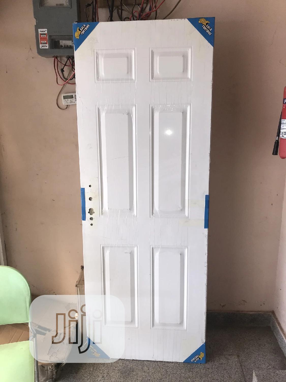 Original White American Steel Door