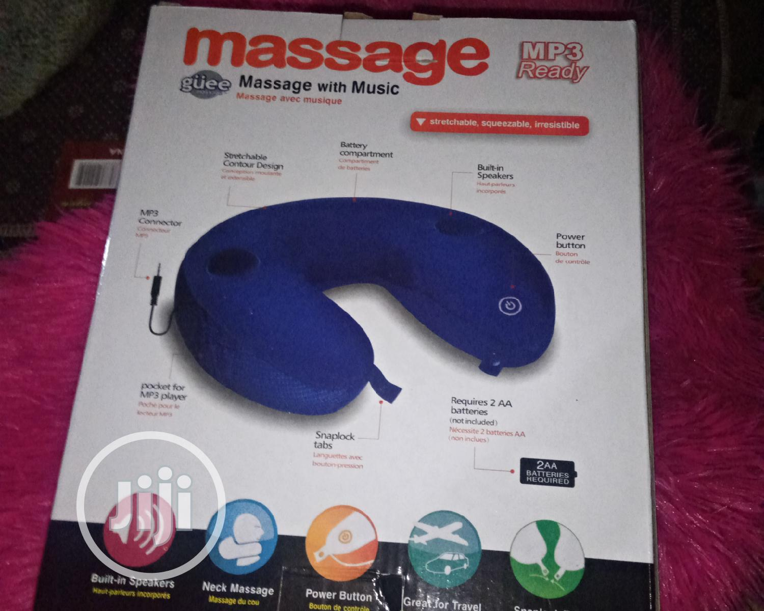 Neck Massage Pillow With Mp3 Player