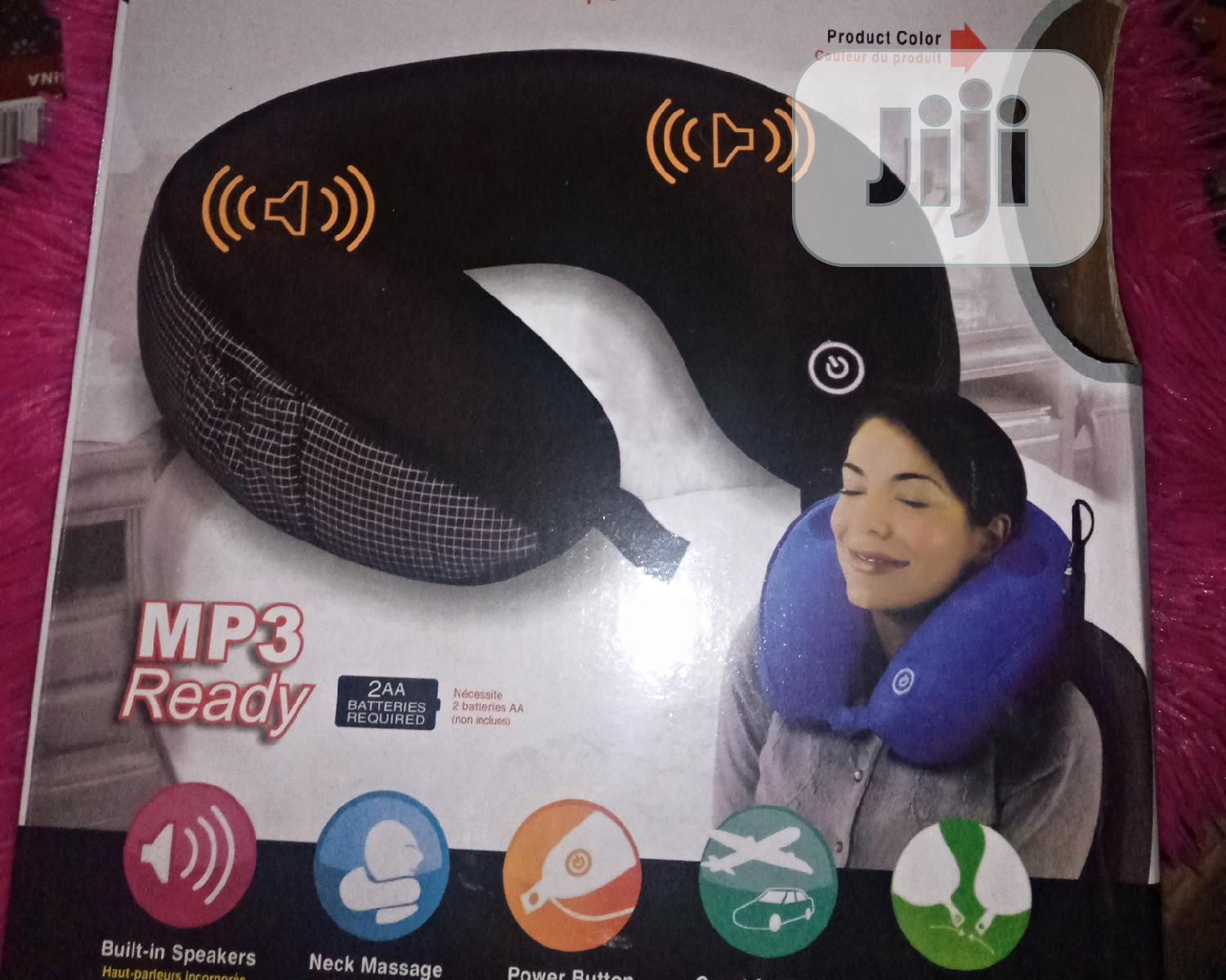 Neck Massage Pillow With Mp3 Player | Home Accessories for sale in Lagos Island (Eko), Lagos State, Nigeria