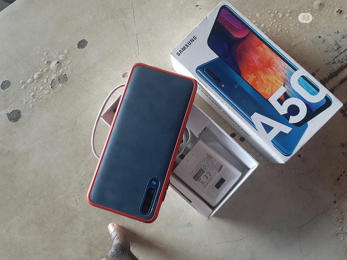 Samsung Galaxy A50 128 GB Blue | Mobile Phones for sale in Ojodu, Lagos State, Nigeria