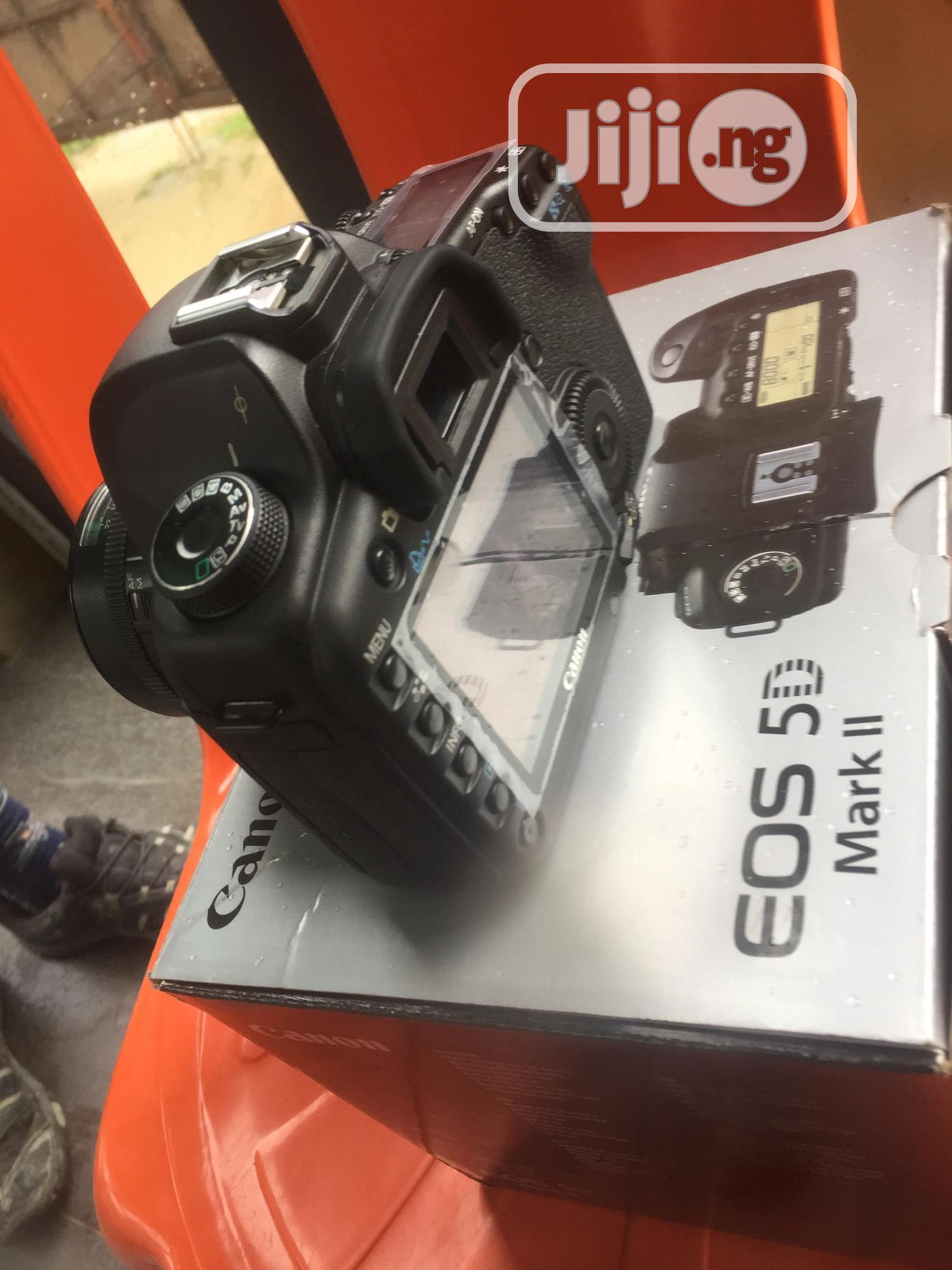 5d Mark II With 50mm | Photo & Video Cameras for sale in Oshodi, Lagos State, Nigeria
