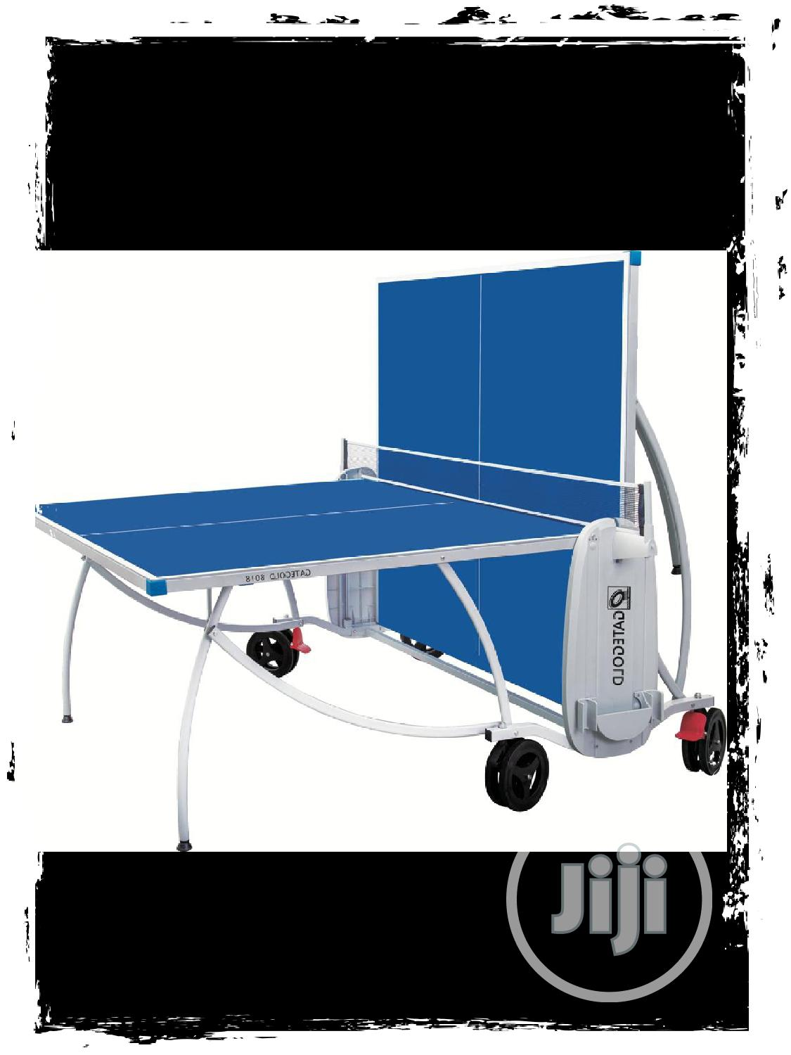Table Tennis Table (Aluminum Outdoor) | Sports Equipment for sale in Port-Harcourt, Rivers State, Nigeria