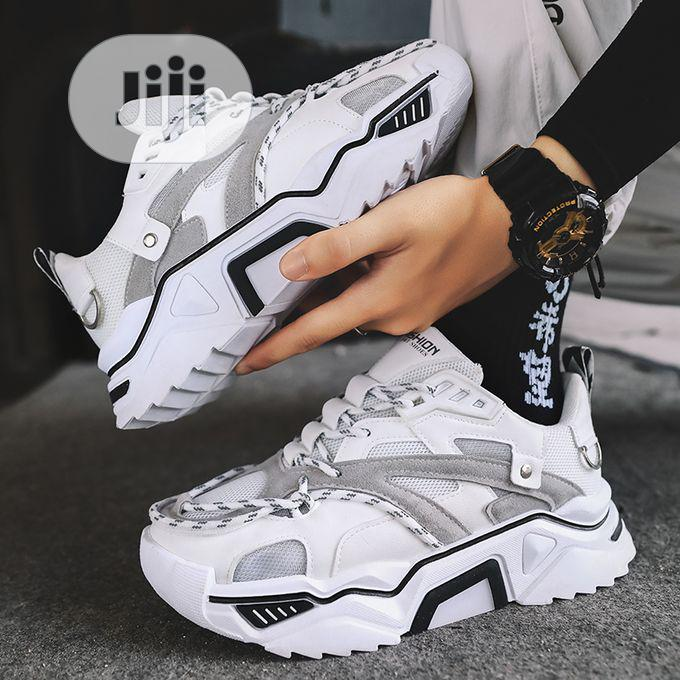 Thick Sneakers Trendy Casual Shoes