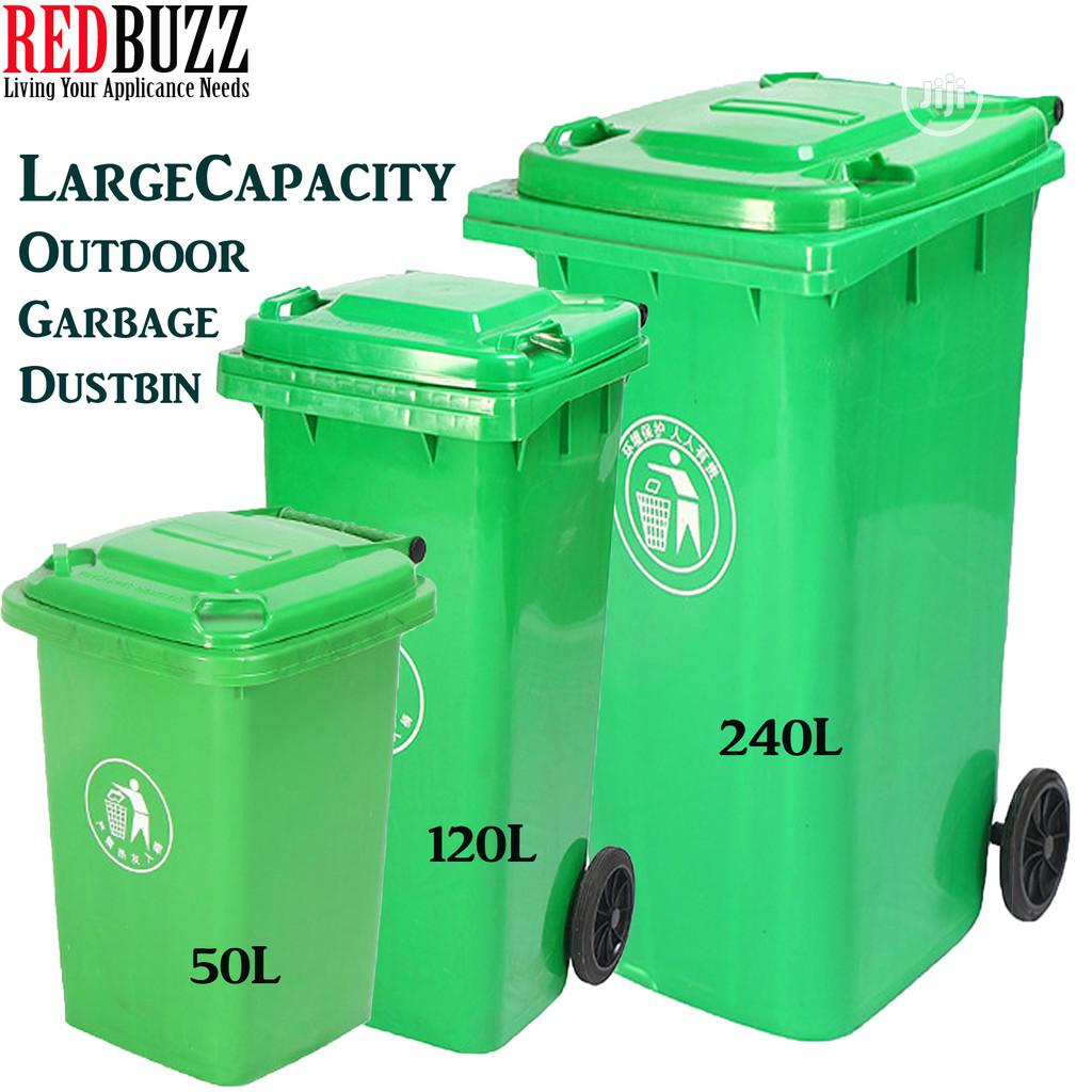 Large Capacity Outdoor Bins
