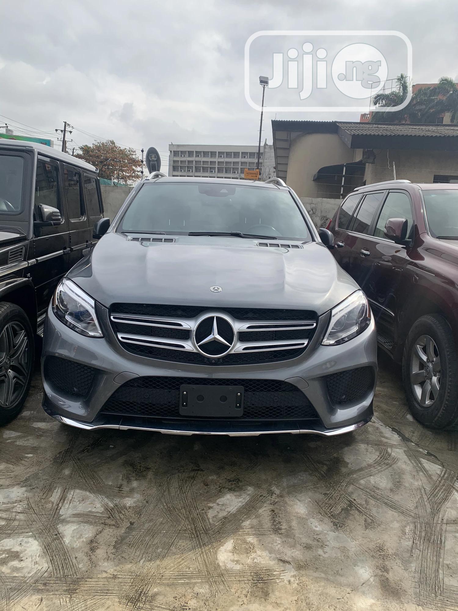Mercedes-Benz GLE-Class 2018 Gray