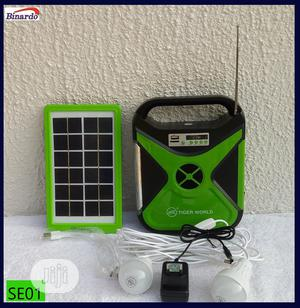 8000mah - 3watt Rechargeable Solar Energy Home Lighting Kit | Solar Energy for sale in Lagos State, Alimosho