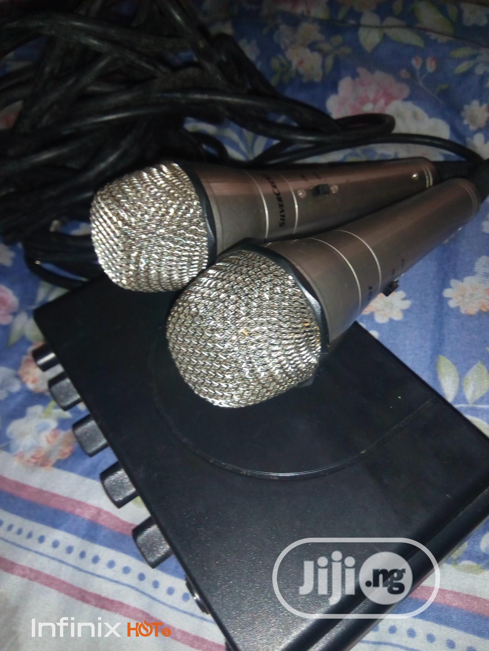 Archive: Silvercrest SKES 2A1 Karaoke System Microphones For Sale
