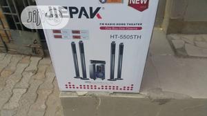 Jiepak Home Theater Sound System With Two Long Speaker | Audio & Music Equipment for sale in Lagos State, Amuwo-Odofin