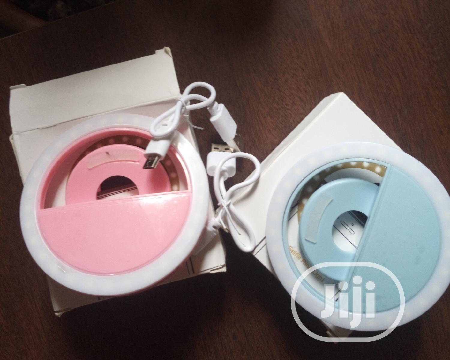 Rechargeable Selfie Ring Light | Accessories for Mobile Phones & Tablets for sale in Kubwa, Abuja (FCT) State, Nigeria