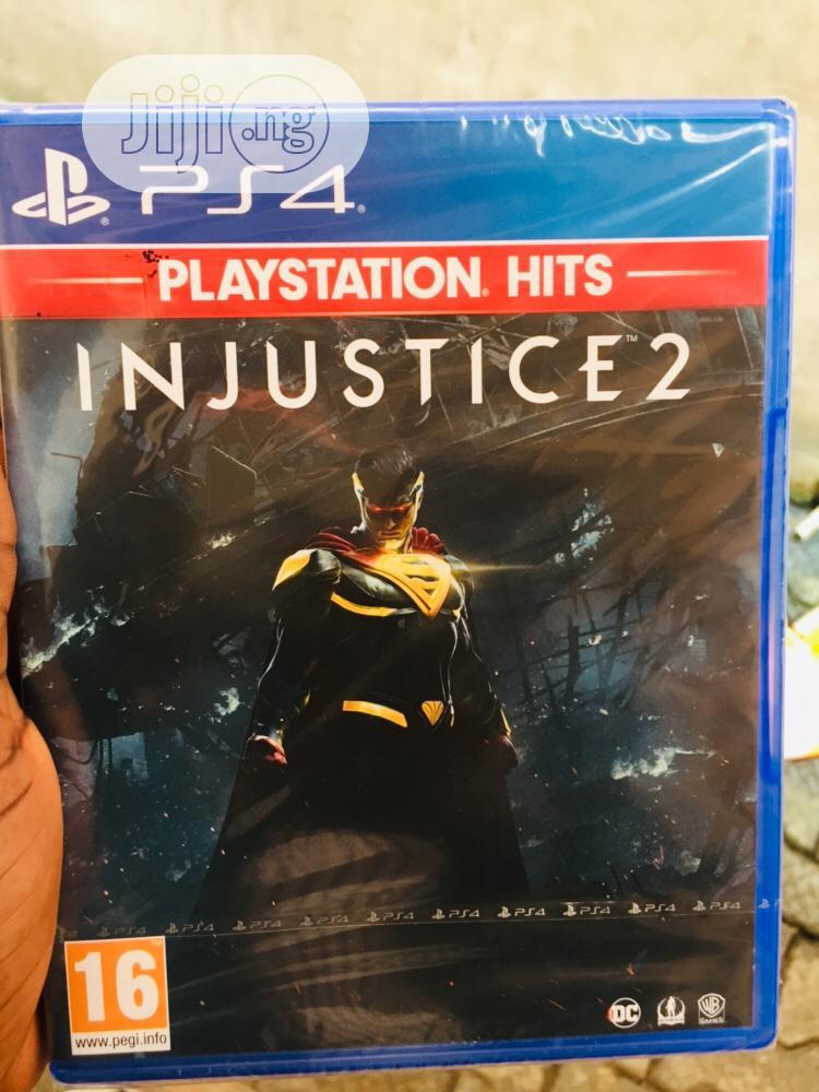 Playstation 4 Injustice 2