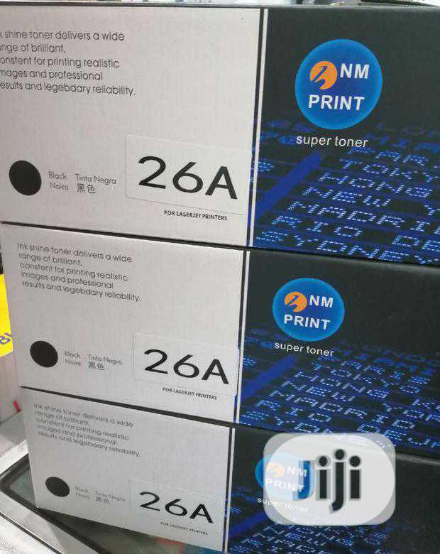 Nmprint Toner 26A | Accessories & Supplies for Electronics for sale in Ikeja, Lagos State, Nigeria