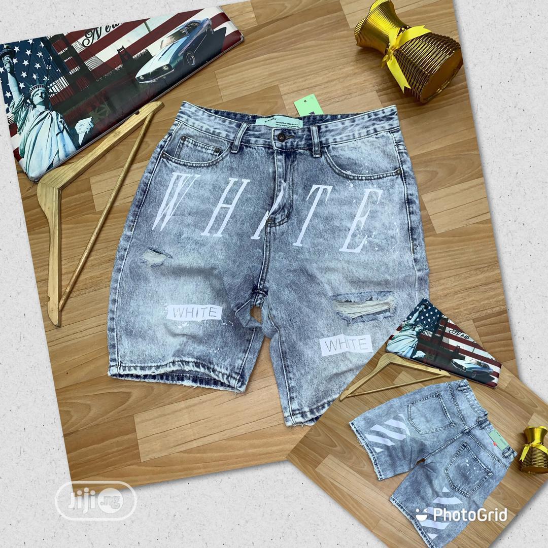 Archive: OFF White Short Jeans For Men