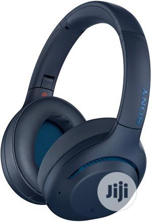 Sony WH-XB900N Wireless Extra Bass Noise Cancelling Blue   Headphones for sale in Lagos State, Ikeja