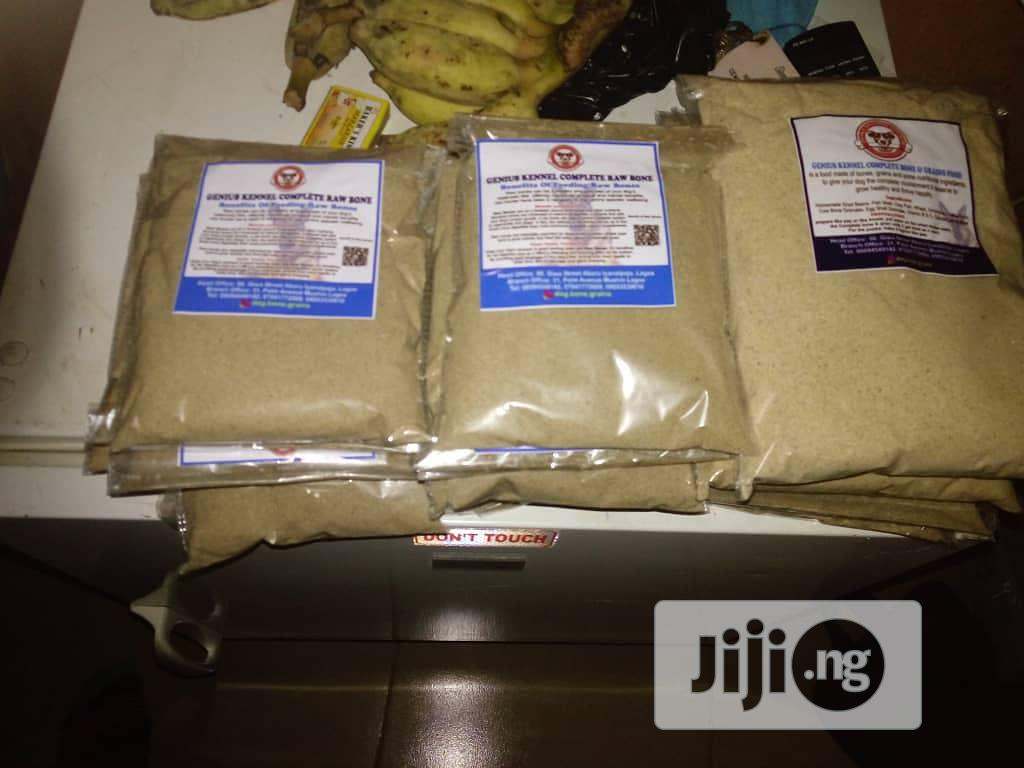 Archive: Raw Bone and Some Nutritional Grounded to Powder for Dogs