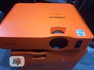 Super Orange Colour Hitachi Projector With Wide Image   TV & DVD Equipment for sale in Lagos State, Abule Egba