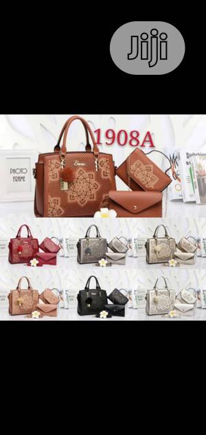 Classic Female Leather Handbag | Bags for sale in Lagos State, Isolo