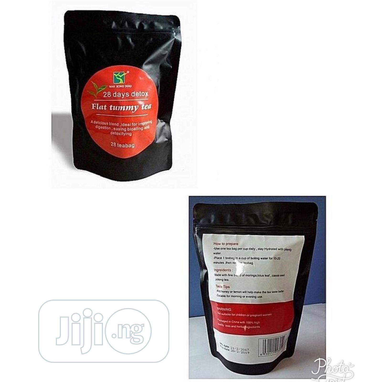 Flat Tummy Tea | Sexual Wellness for sale in Gwarinpa, Abuja (FCT) State, Nigeria