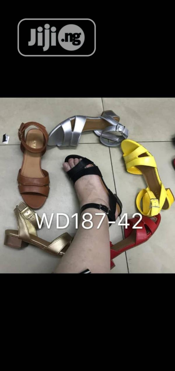 New Quality Female Leather Sandal Shoes