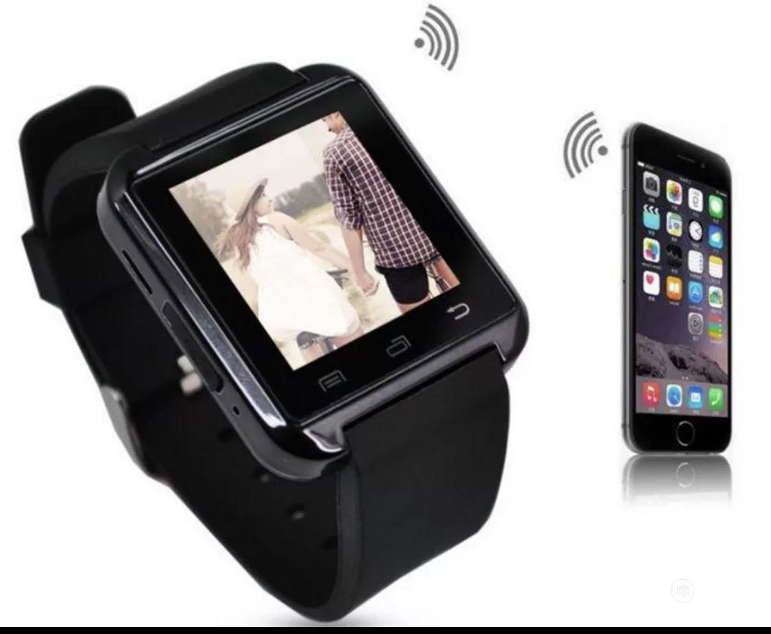 U8 Bluetooth Smart Watch Phone | Smart Watches & Trackers for sale in Ajah, Lagos State, Nigeria