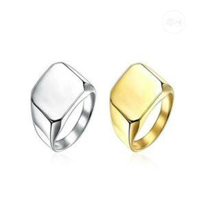 Mens Classy Ring-gold And Silver   Jewelry for sale in Lagos State, Ikeja