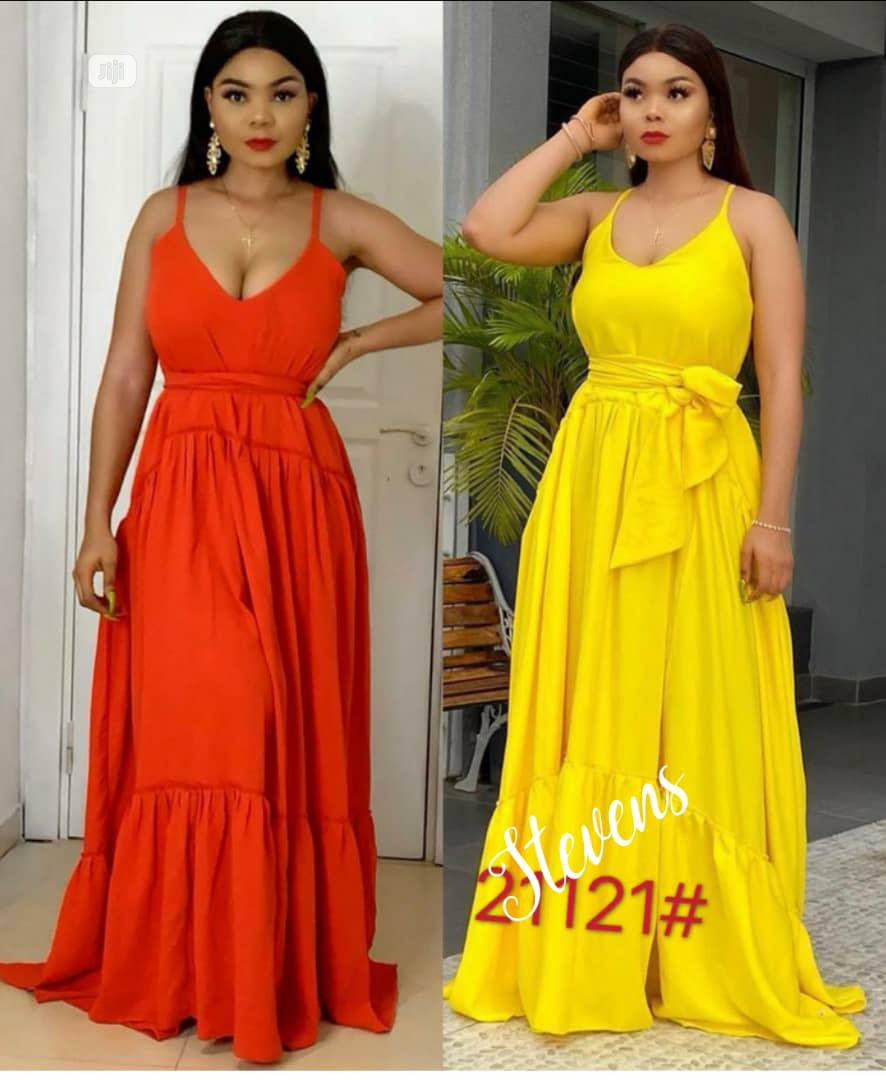 New Quality Female Long Gown.