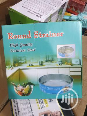 Round Strainer,High Quality Stainless Steel | Kitchen & Dining for sale in Lagos State, Ojodu