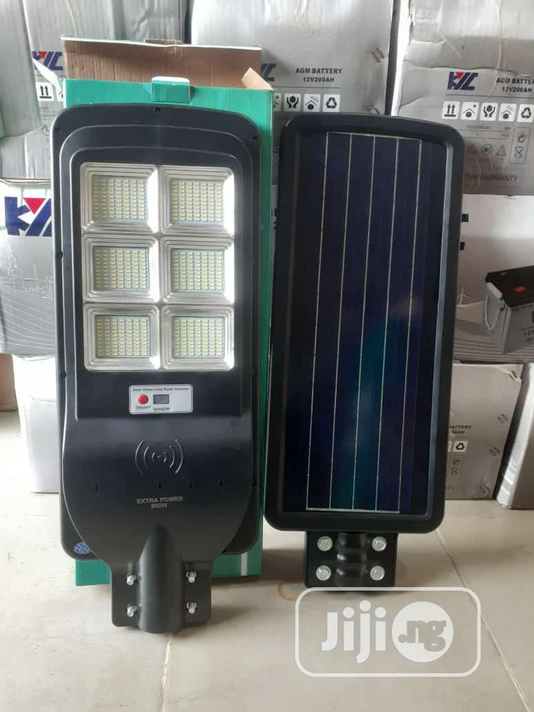 200W All in One Solar Street Lights