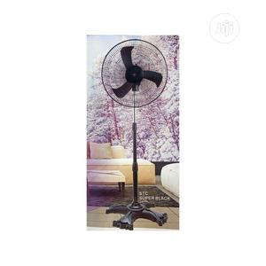 STC Collections 18-Inch Standing Fan Super Black -FB23   Home Appliances for sale in Lagos State, Alimosho
