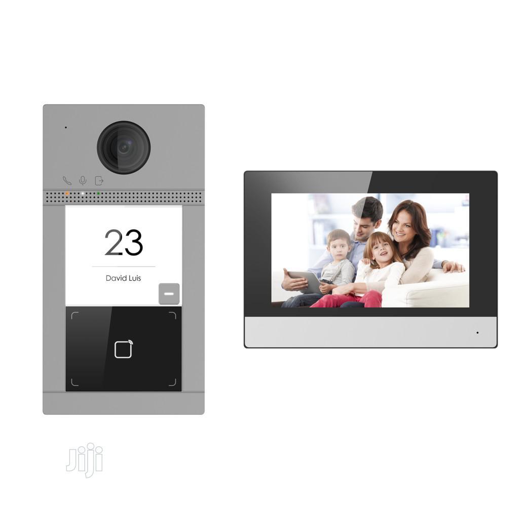 Hikvision DS-KIS604-S 2MP Wireless POE Video Door Phone
