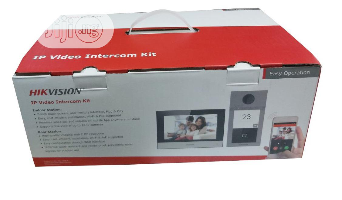Hikvision DS-KIS604-S 2MP Wireless POE Video Door Phone | Home Appliances for sale in Ikeja, Lagos State, Nigeria