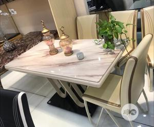 Quality Portable Executive Glass Dining Table by Six Sitter | Furniture for sale in Lagos State, Lekki