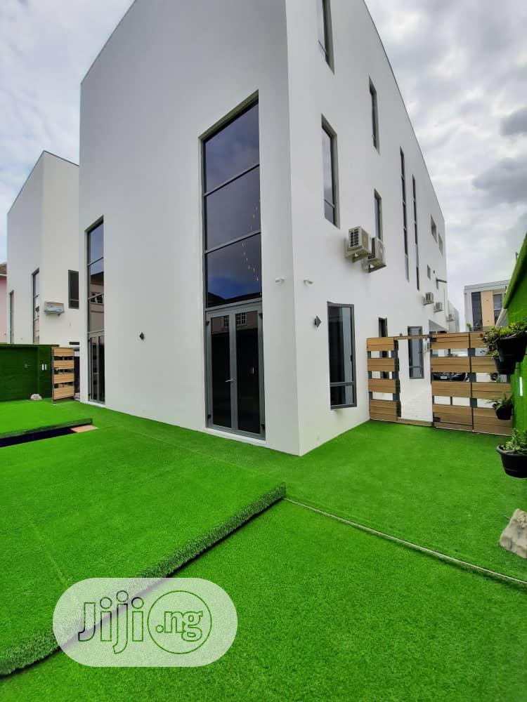 Beautiful 5bedroom Fully Detached Duplex With Cinema
