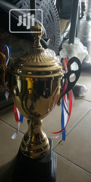 New Portable Winning Trophy Available At Ejico Sports | Arts & Crafts for sale in Rivers State, Port-Harcourt