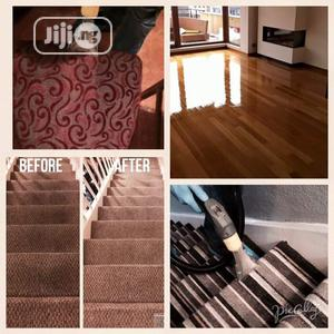 Clean Your Upholstery, Rug, And Wooden Floor Restoration. | Cleaning Services for sale in Lagos State, Ojota