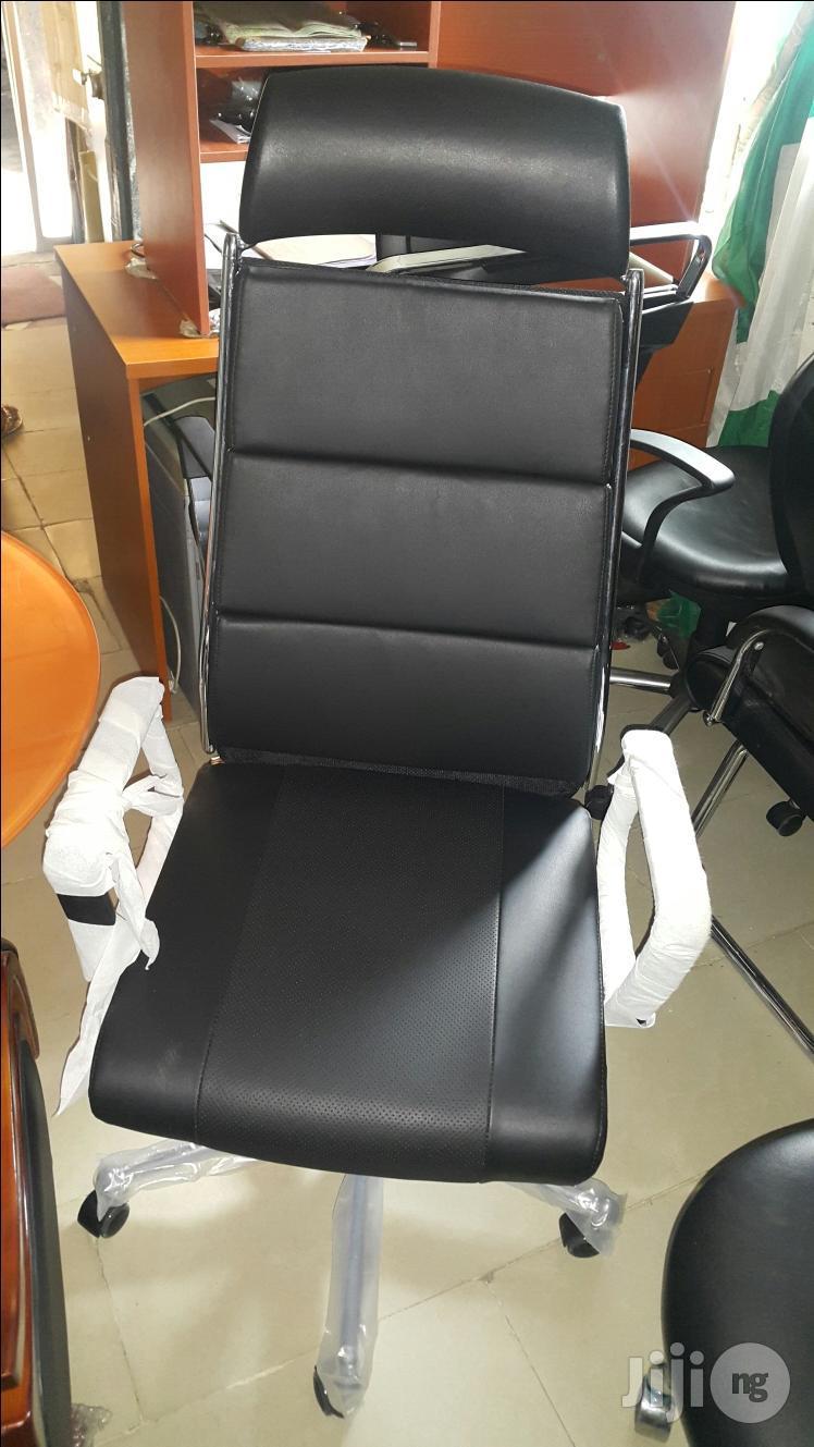 Italian Leather Executive Office Chair Model - Eme003