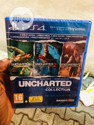 Ps4 Uncharted 4 The Nathan Drake Collectio   Video Games for sale in Lagos State, Ikeja