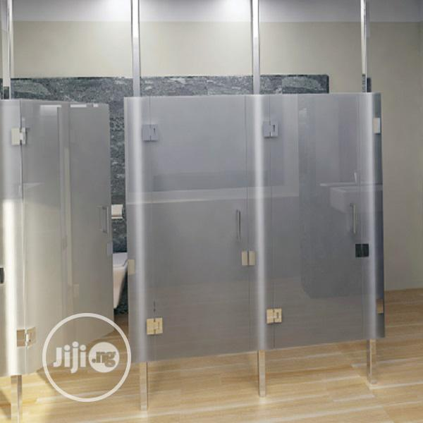 Toilet And Office Partition