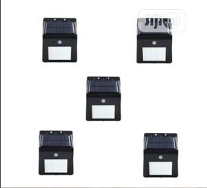Led Motion Sensor Solar Powered Lamp Light - 5 Units | Solar Energy for sale in Lagos State, Ojodu