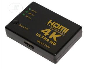 4K High Speed HDMI 3x1 3 In 1 Out Ultra HD Switch   TV & DVD Equipment for sale in Lagos State, Ojodu