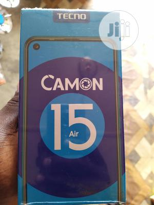 New Tecno Camon 15 Air 64 GB Blue | Mobile Phones for sale in Lagos State, Alimosho