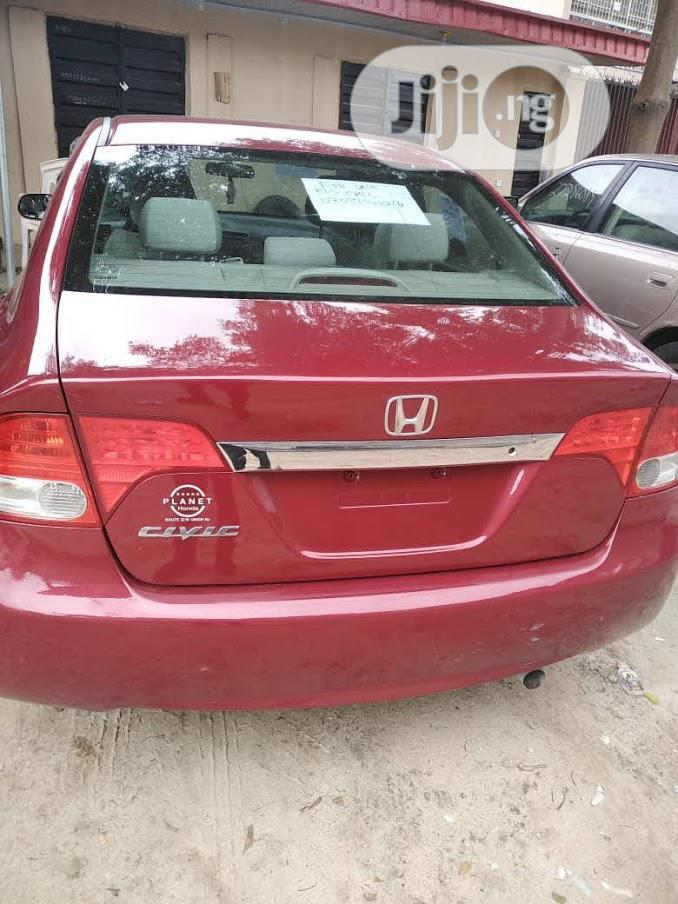 Honda Civic 2010 Red | Cars for sale in Isolo, Lagos State, Nigeria