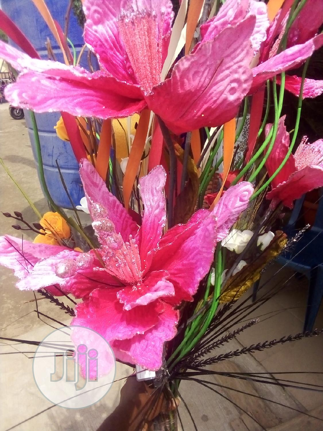 Beautiful Artificial Flowers, For Flower Pots And Vases