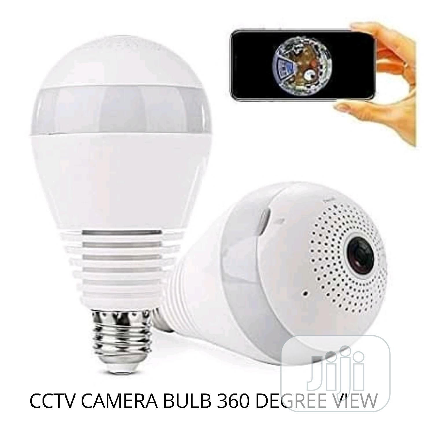 CCTV Camera Wi-fi With Bulb