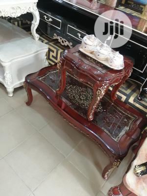 Quality Portable Royal Center Table With Two Side Stool | Furniture for sale in Lagos State, Lekki