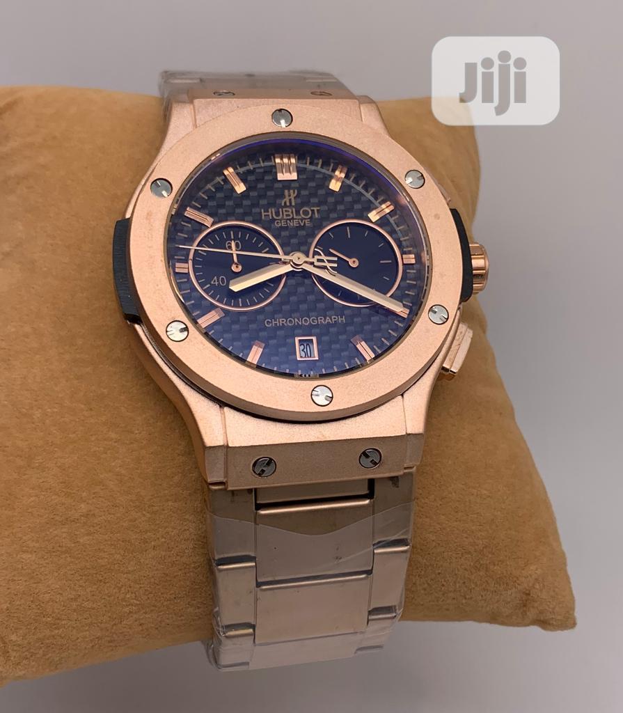 Beautiful Brown Hublot Wristwatch