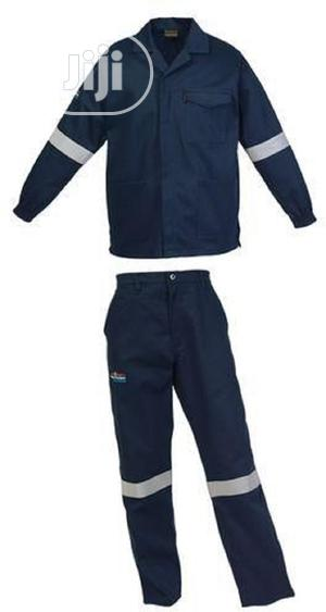 Cotton Shirt And Trouser Coverall With Reflective   Safetywear & Equipment for sale in Lagos State, Ikeja