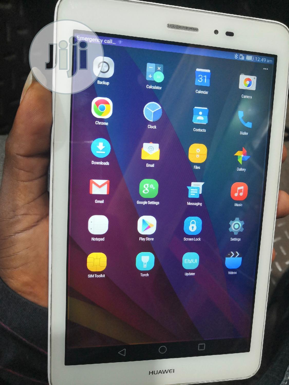 Huawei MediaPad T1 8.0 16 GB Silver | Tablets for sale in Ikeja, Lagos State, Nigeria